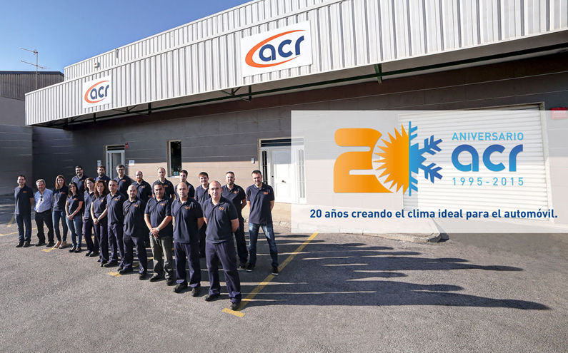 20 years creating the ideal automotive climate at ACR