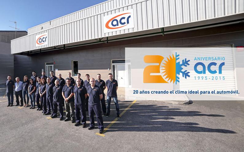 20 años creando el clima ideal para el automóvil en ACR