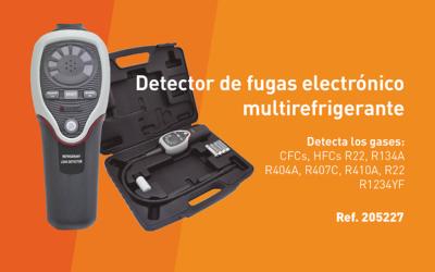 Multicoolant electronic leak detector