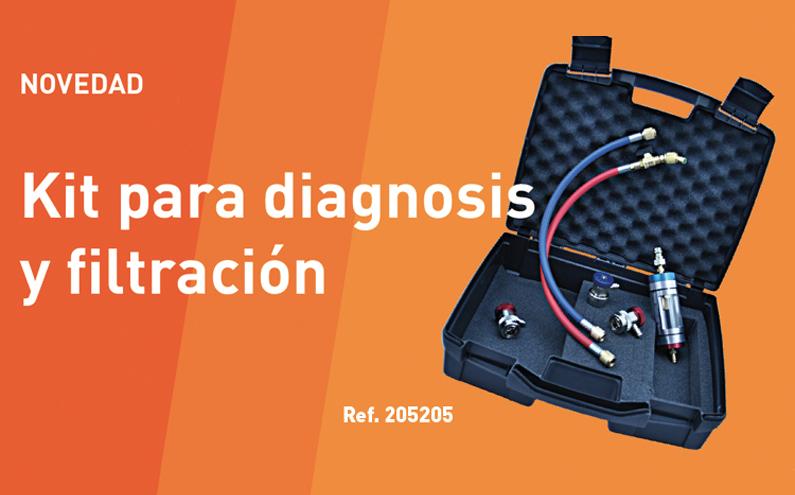Nuevo Kit de Diagnostico y filtración